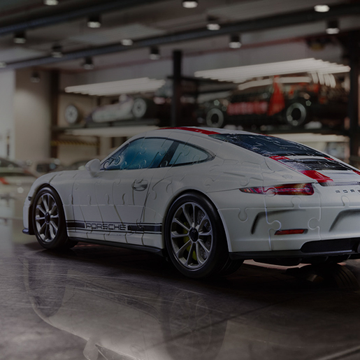 video 3d puzzle porsche. Black Bedroom Furniture Sets. Home Design Ideas