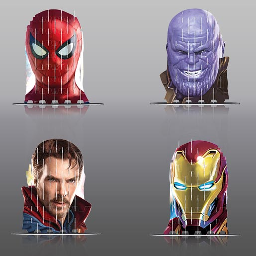 Video Image - 4S Vision: Spiderman, Dr.Strange, Thanos, Ironman