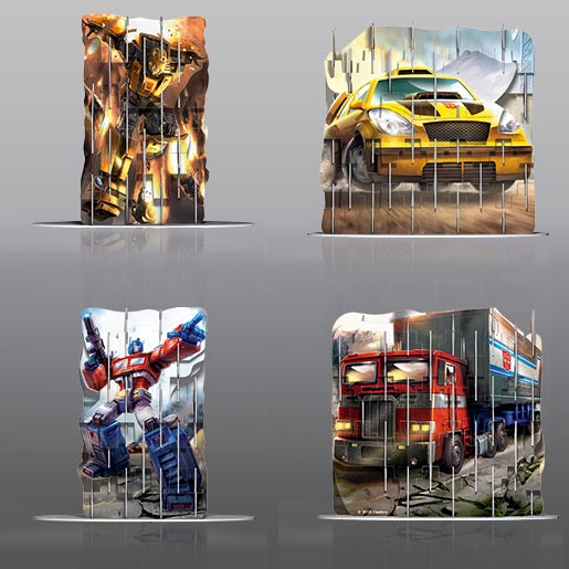 Video Image - 4S Vision: Optimus Prime & Bumblebee