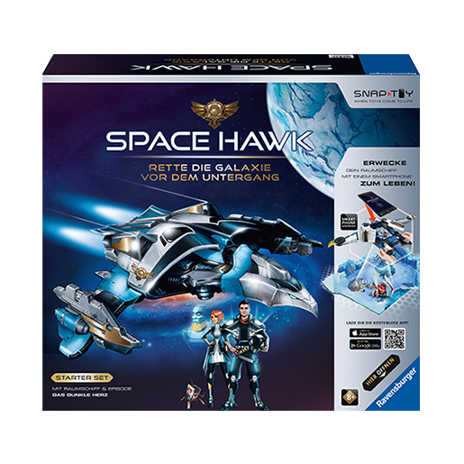 Space Hawk Produktpackung